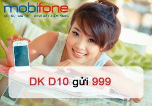 GÓI DATA D10 Mobifone