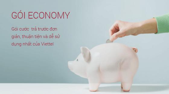 Gói cước economy của nhà mạng viettel