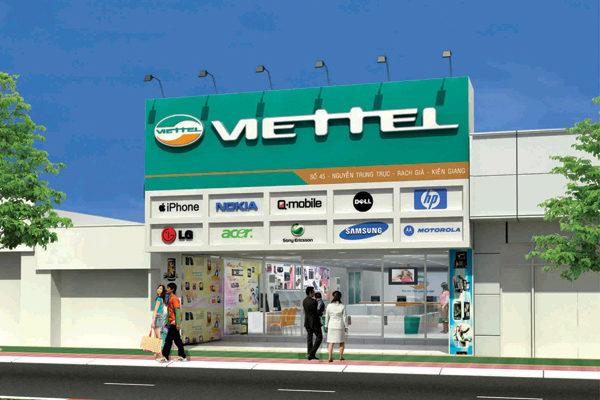 Cửa hàng - trung tâm giao dịch của Viettel
