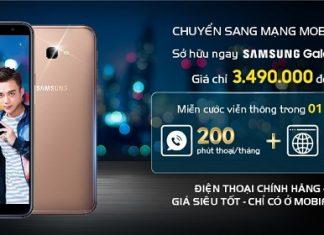 Chuyển mạng giữ số sở hữu ngay Samsung Galaxy J4+ chỉ từ 1.990.000 VNĐ cùng MobiFone