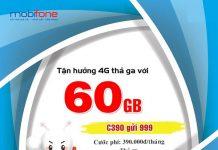 Gói cước c390 mobifone