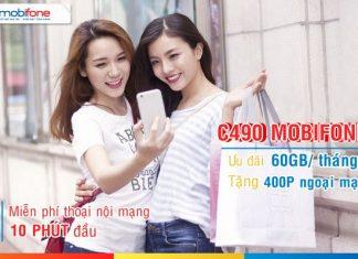 Gói cước C490 mobifone