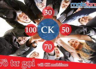 CÁC GÓI CƯỚC CK30 CK50 CK70 CK100 MOBIFONE ƯU ĐÃI CỰC KHỦNG
