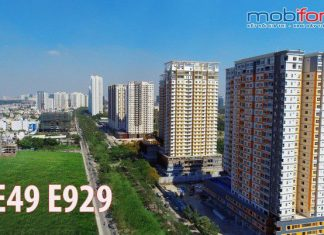 Gói cước E49 E929 Mobifone ưu đãi cực sốc