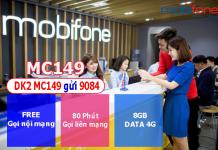 Đăng ký gói cước MC149 mobifone thoải mái gọi điện, tha hồ lướt web