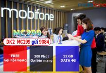 Đăng ký gói cước MC299 mobifone ưu đãi khủng