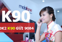 Đăng ký gói K90 mobifone tha hồ gọi điện
