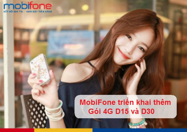 Đăng ký gói cước D15 - D30 Mobifone
