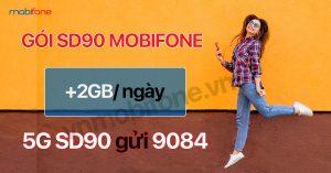 Cú pháp đăng ký gói SD90 Mobi