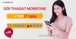 Cú pháp đăng ký gói THAGA7 MobiFone