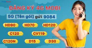 Cách đăng ký gói cước 4g MobiFone