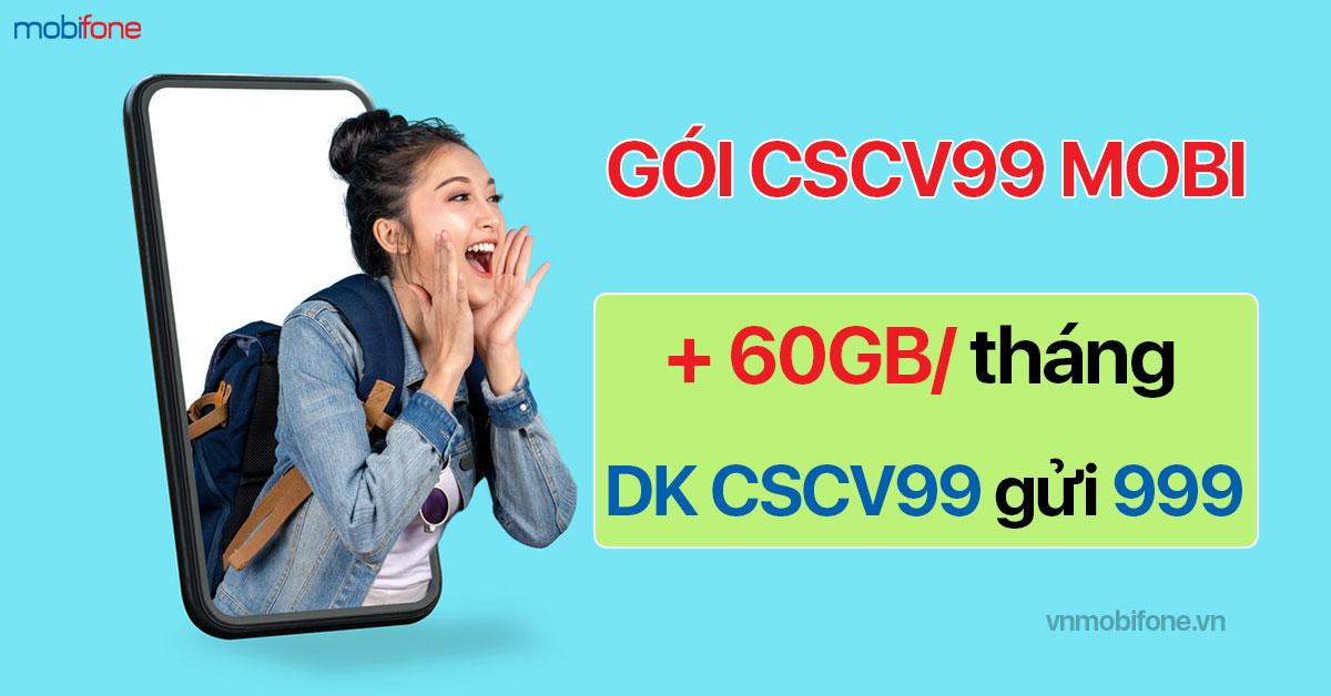 Đăng ký gói CSCV99 MobiFone