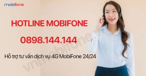 Tổng đài hotline MobiFone