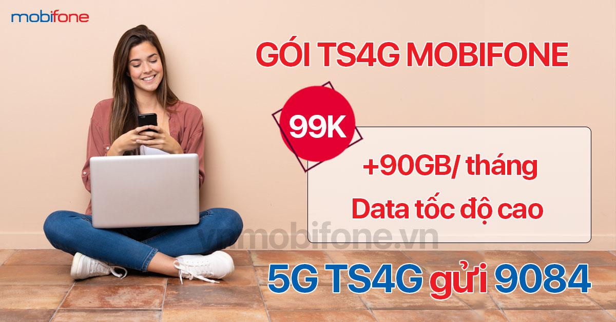 Cú pháp đăng ký gói TS4G MobiFone