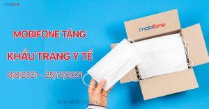 Chương trình MobiFone tặng khẩu trang y tế