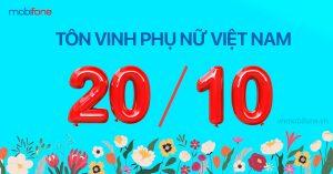 Chương trình tôn vinh phụ nữ Việt Nam nhân ngày 20/10